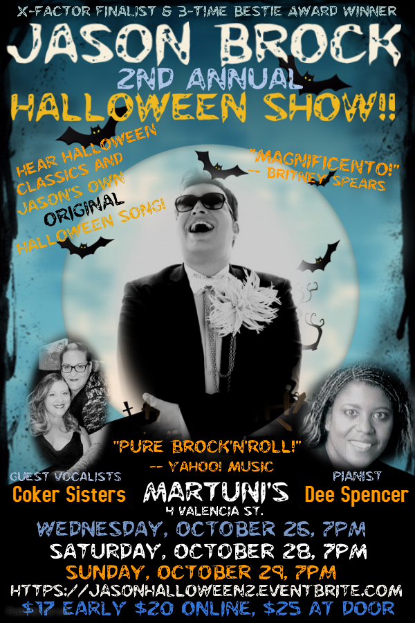 Jason Brock's 2nd Annual Halloween Show